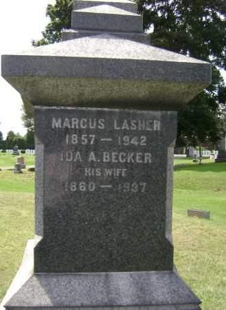 BECKER, IDA A - Albany County, New York | IDA A BECKER - New York Gravestone Photos