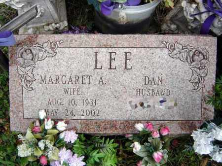 LEE, MARGARET A - Albany County, New York | MARGARET A LEE - New York Gravestone Photos