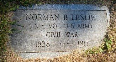 LESLIE, NORMAN B - Albany County, New York | NORMAN B LESLIE - New York Gravestone Photos