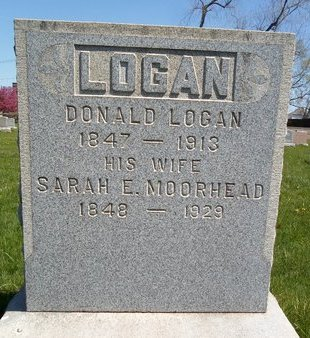 MOORHEAD LOGAN, SARAH E - Albany County, New York | SARAH E MOORHEAD LOGAN - New York Gravestone Photos