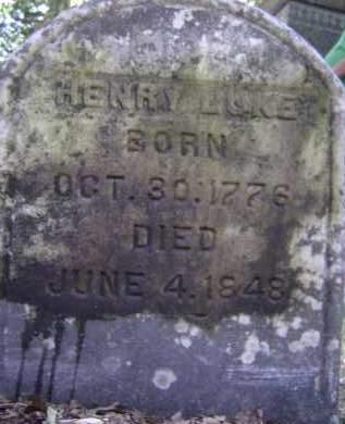 LUKE, HENRY - Albany County, New York | HENRY LUKE - New York Gravestone Photos