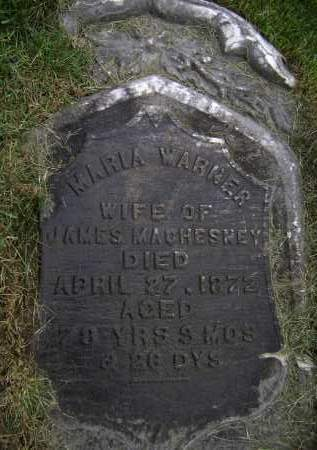 MACHESNEY, MARIA - Albany County, New York | MARIA MACHESNEY - New York Gravestone Photos