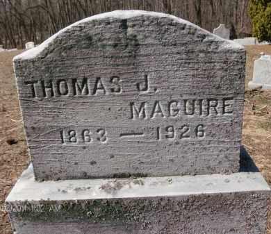 MAGUIRE, THOMAS J - Albany County, New York | THOMAS J MAGUIRE - New York Gravestone Photos