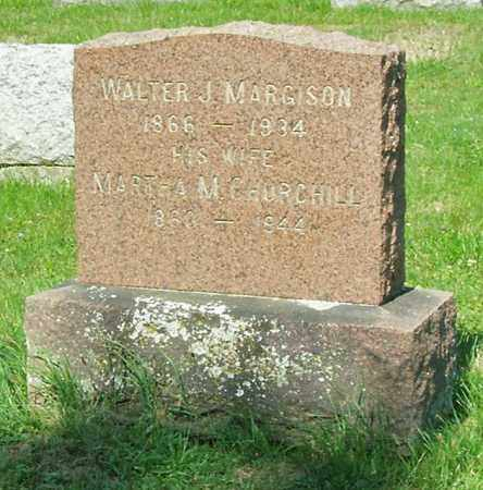 MARGISON, WALTER J - Albany County, New York | WALTER J MARGISON - New York Gravestone Photos