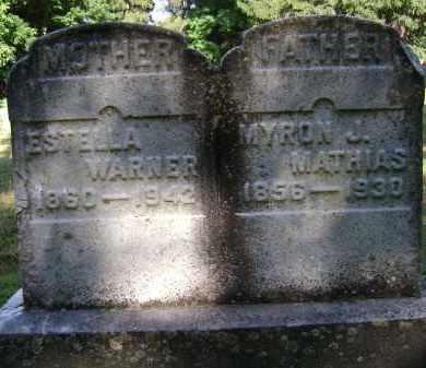 WARNER, ESTELLA - Albany County, New York | ESTELLA WARNER - New York Gravestone Photos