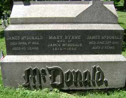 MCDONALD, JAMES - Albany County, New York | JAMES MCDONALD - New York Gravestone Photos