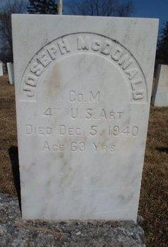 MCDONALD (SA), JOSEPH - Albany County, New York   JOSEPH MCDONALD (SA) - New York Gravestone Photos