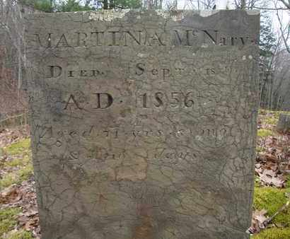 MCNARY, MARTINA - Albany County, New York | MARTINA MCNARY - New York Gravestone Photos
