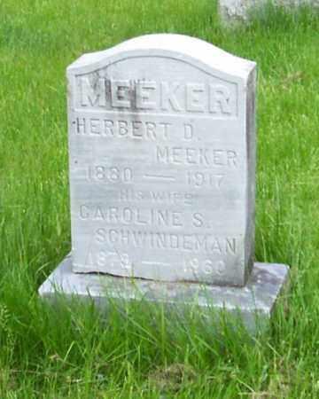 MEEKER, HERBERT D. - Albany County, New York | HERBERT D. MEEKER - New York Gravestone Photos