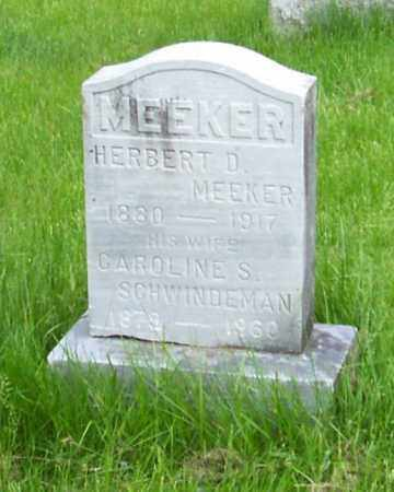 MEEKER, CAROLINE S. - Albany County, New York | CAROLINE S. MEEKER - New York Gravestone Photos