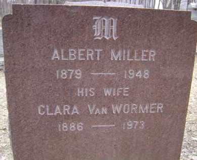 MILLER, ALBERT - Albany County, New York   ALBERT MILLER - New York Gravestone Photos