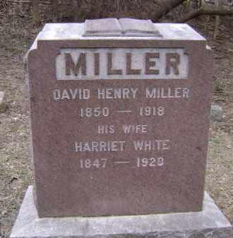 MILLER, HARRIET - Albany County, New York   HARRIET MILLER - New York Gravestone Photos
