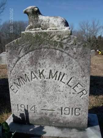 MILLER, EMMA K - Albany County, New York | EMMA K MILLER - New York Gravestone Photos
