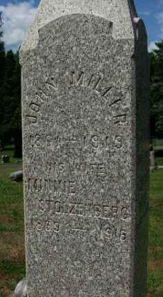 MILLER, MINNIE - Albany County, New York | MINNIE MILLER - New York Gravestone Photos