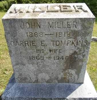 TOMPKINS, CARRIE E - Albany County, New York | CARRIE E TOMPKINS - New York Gravestone Photos