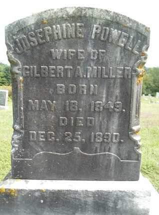 POWELL, JOSEPHINE - Albany County, New York | JOSEPHINE POWELL - New York Gravestone Photos