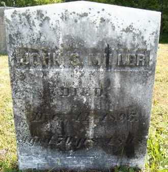 MILLER, JOHN S - Albany County, New York | JOHN S MILLER - New York Gravestone Photos