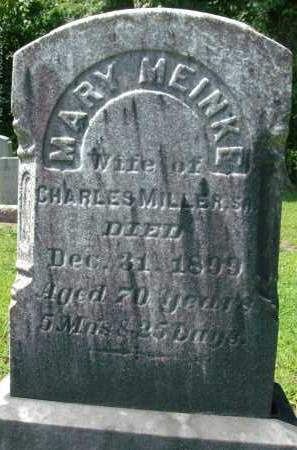 MILLER, MARY - Albany County, New York | MARY MILLER - New York Gravestone Photos