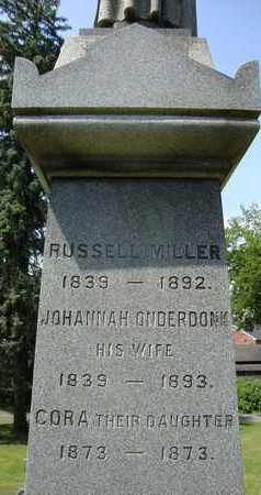 MILLER, RUSSELL - Albany County, New York | RUSSELL MILLER - New York Gravestone Photos
