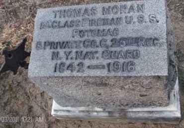 MORAN, THOMAS - Albany County, New York | THOMAS MORAN - New York Gravestone Photos