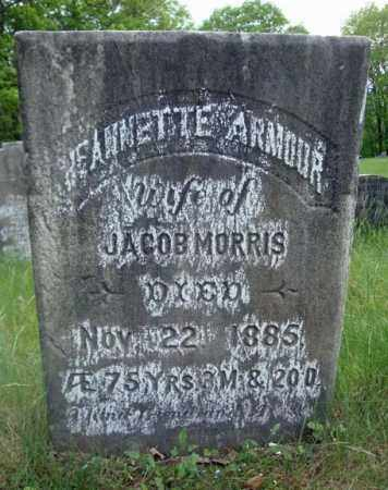ARMOUR MORRIS, JEANNETTE - Albany County, New York | JEANNETTE ARMOUR MORRIS - New York Gravestone Photos
