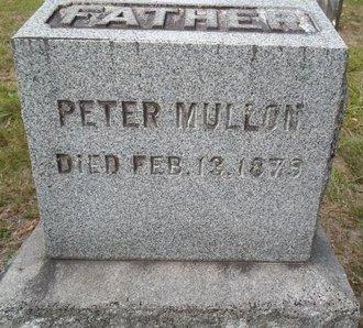 MULLON, PETER - Albany County, New York | PETER MULLON - New York Gravestone Photos