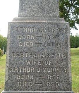 SMITH MURPHY, BERTHA M - Albany County, New York | BERTHA M SMITH MURPHY - New York Gravestone Photos
