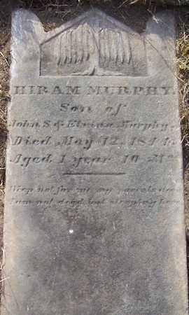 MURPHY, HIRAM - Albany County, New York   HIRAM MURPHY - New York Gravestone Photos