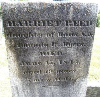 MYERS, HARRIET REED - Albany County, New York | HARRIET REED MYERS - New York Gravestone Photos