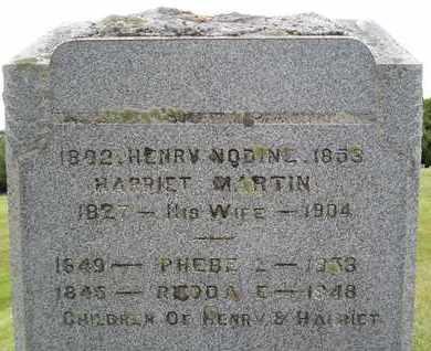 NODINE, HARRIET - Albany County, New York | HARRIET NODINE - New York Gravestone Photos