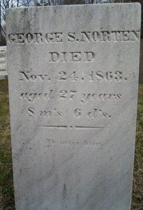 NORTEN, GEORGE S - Albany County, New York   GEORGE S NORTEN - New York Gravestone Photos