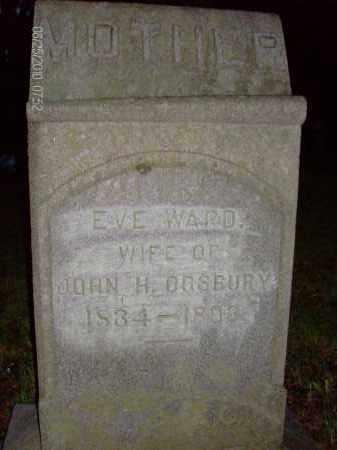 OGSBURY, EVE - Albany County, New York   EVE OGSBURY - New York Gravestone Photos