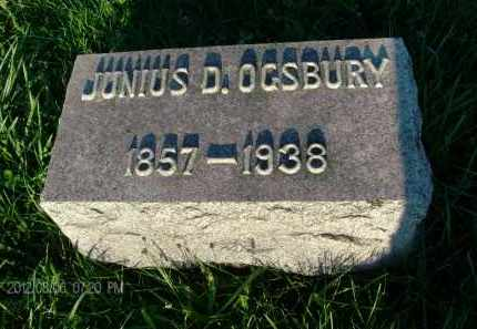 OGSBURY, JUNIUS D - Albany County, New York   JUNIUS D OGSBURY - New York Gravestone Photos