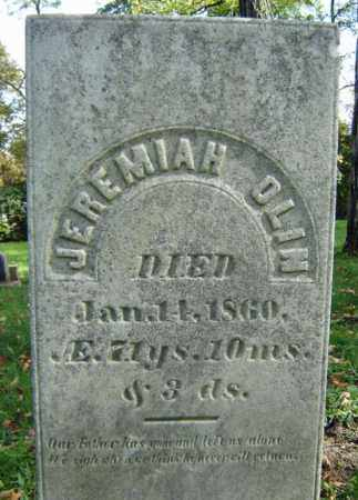 OLIN, JEREMIAH - Albany County, New York | JEREMIAH OLIN - New York Gravestone Photos