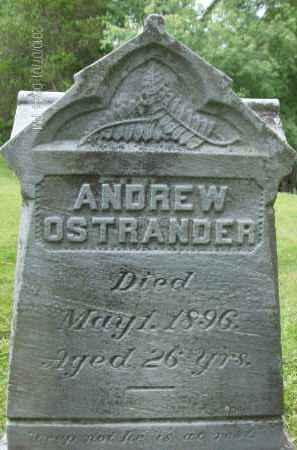 OSTRANDER, ANDREW - Albany County, New York | ANDREW OSTRANDER - New York Gravestone Photos