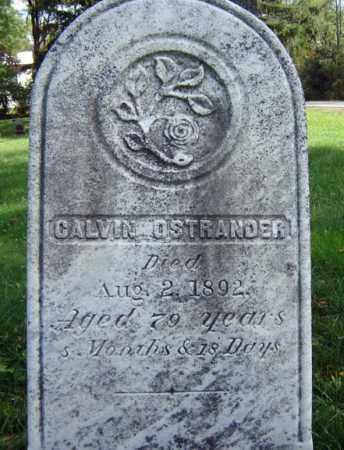 OSTRANDER, CALVIN - Albany County, New York | CALVIN OSTRANDER - New York Gravestone Photos