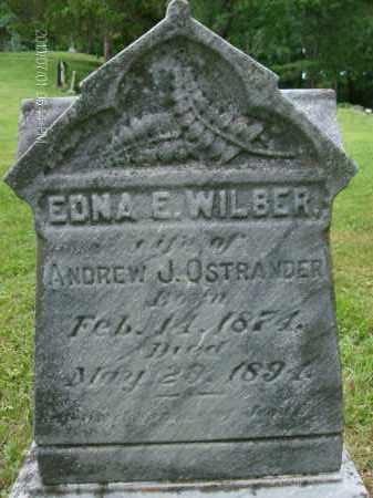 OSTRANDER, EDNA - Albany County, New York | EDNA OSTRANDER - New York Gravestone Photos