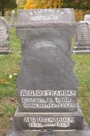 OSTRANDER, ELIZABETH - Albany County, New York | ELIZABETH OSTRANDER - New York Gravestone Photos