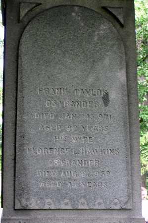 OSTRANDER, FRANK - Albany County, New York | FRANK OSTRANDER - New York Gravestone Photos