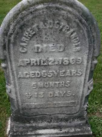 OSTRANDER, GARRET - Albany County, New York | GARRET OSTRANDER - New York Gravestone Photos