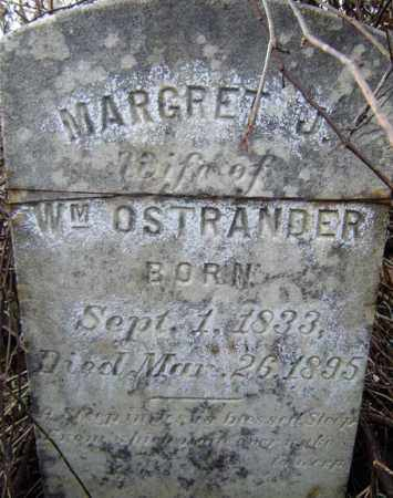 OSTRANDER, MARGARET J - Albany County, New York | MARGARET J OSTRANDER - New York Gravestone Photos