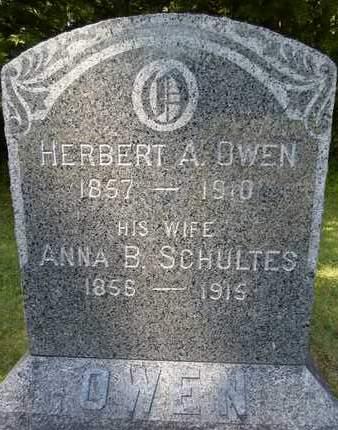 OWEN, ANNA B - Albany County, New York | ANNA B OWEN - New York Gravestone Photos
