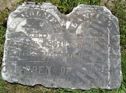 PINNEY, G HOLMES - Albany County, New York | G HOLMES PINNEY - New York Gravestone Photos
