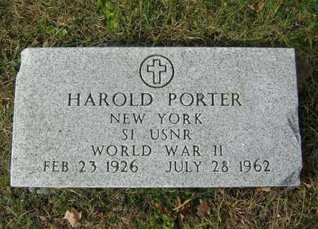PORTER, HAROLD - Albany County, New York | HAROLD PORTER - New York Gravestone Photos