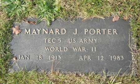 PORTER, MAYNARD - Albany County, New York   MAYNARD PORTER - New York Gravestone Photos