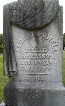 POWELL, ALBERT - Albany County, New York | ALBERT POWELL - New York Gravestone Photos