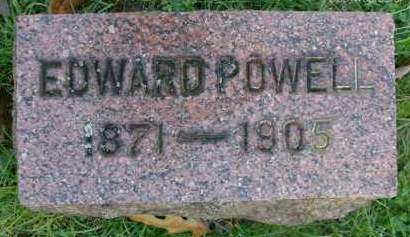 POWELL, EDWARD - Albany County, New York   EDWARD POWELL - New York Gravestone Photos