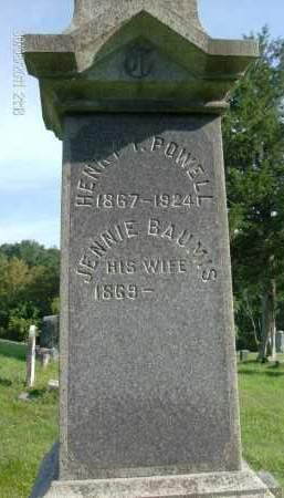 POWELL, JENNIE - Albany County, New York | JENNIE POWELL - New York Gravestone Photos