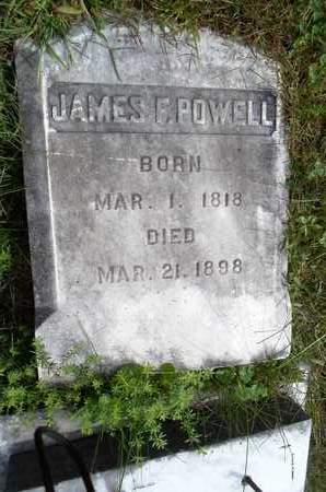 POWELL, JAMES F - Albany County, New York | JAMES F POWELL - New York Gravestone Photos