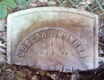 POWELL, JOSEPH T - Albany County, New York | JOSEPH T POWELL - New York Gravestone Photos